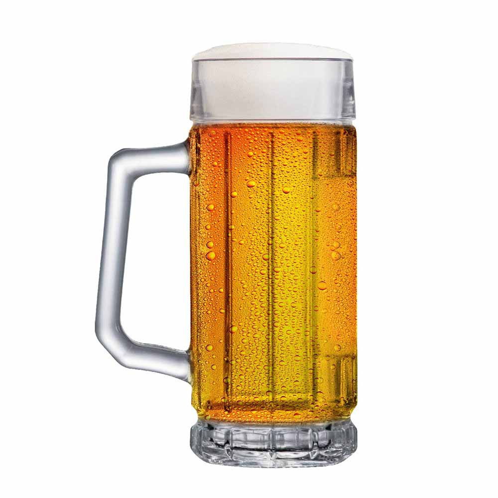 Caneca de Chopp de Vidro Cerveja Alaska 365ml