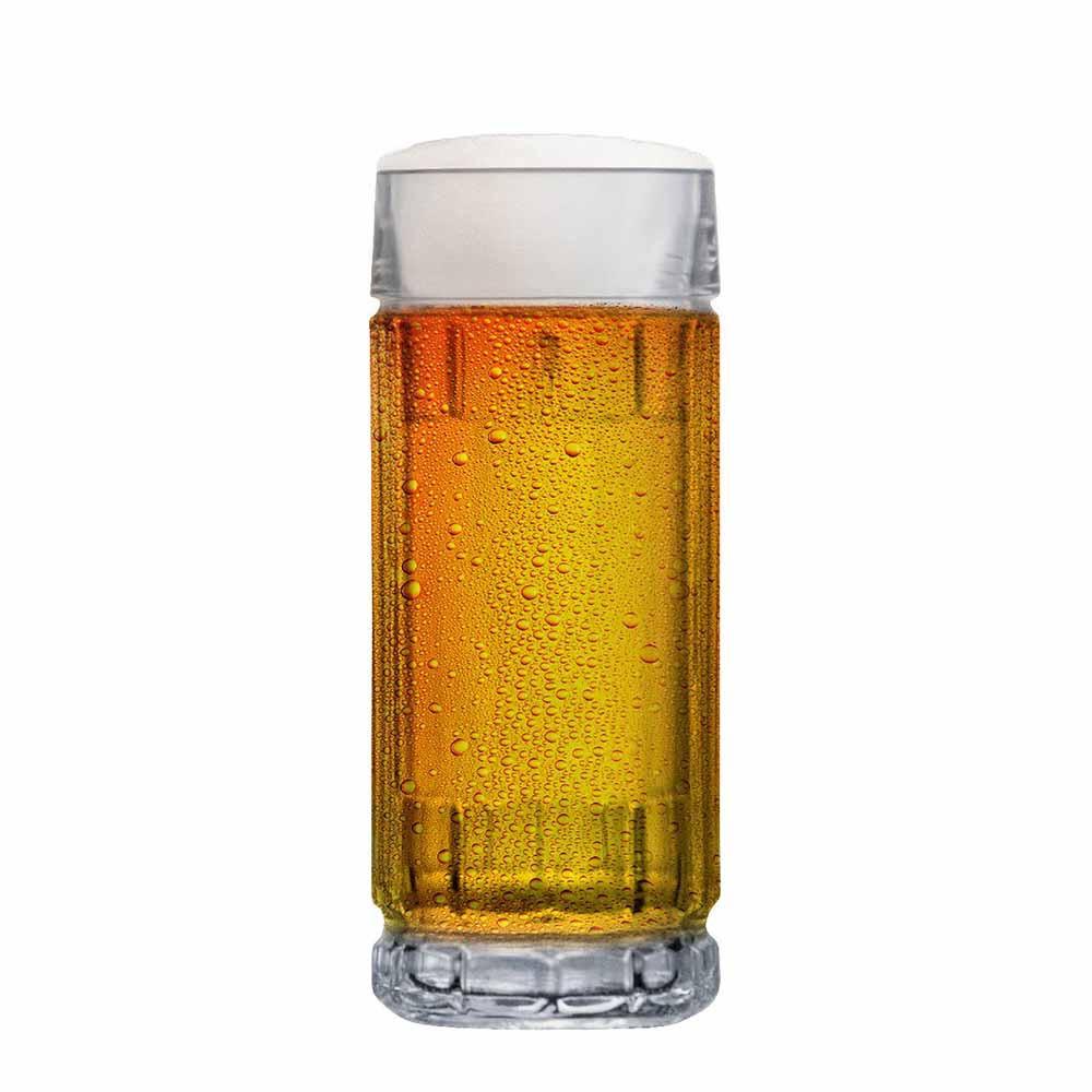 Caneca de Chopp Cerveja de Vidro Alaska 365ml
