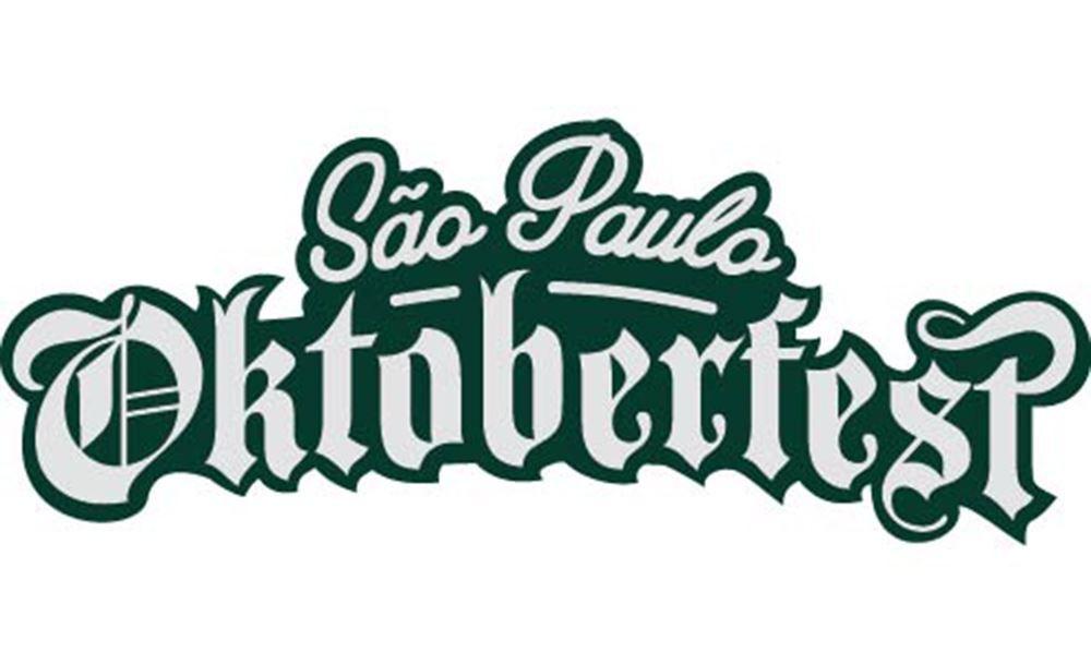 Caneca de Chopp de Vidro ou Cerveja Oficial Oktoberfest SP Ruvolo 1 Litro