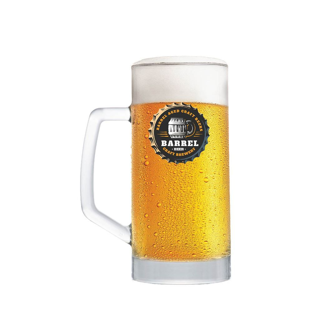 Caneca de Chopp Frases Cerveja Beer Coll. Barrel Berna 500ml