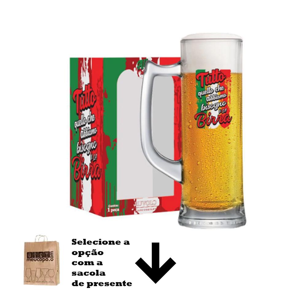 Caneca de Chopp Frases de Boteco All W N Tutto Sauerland 280ml