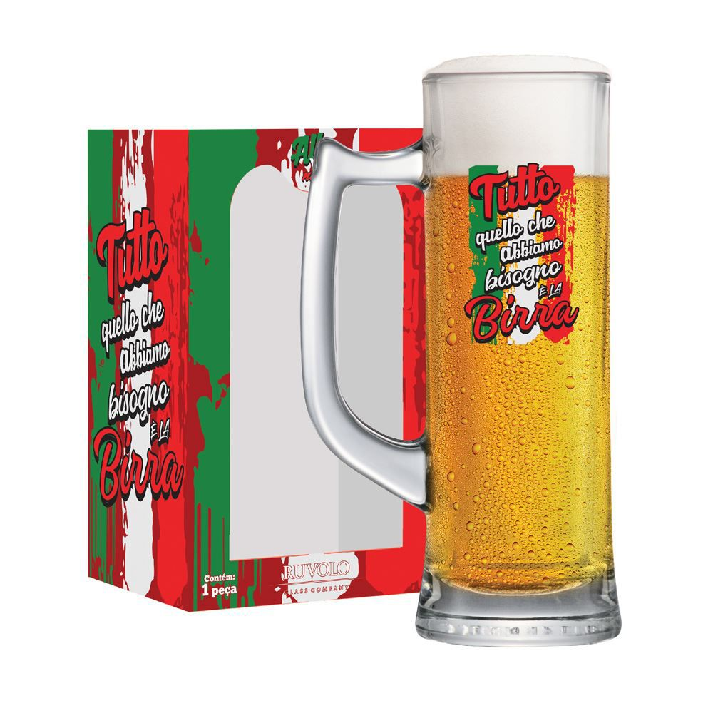 Caneca de Chopp Frases de Boteco All W N Tutto Sauerland 280ml