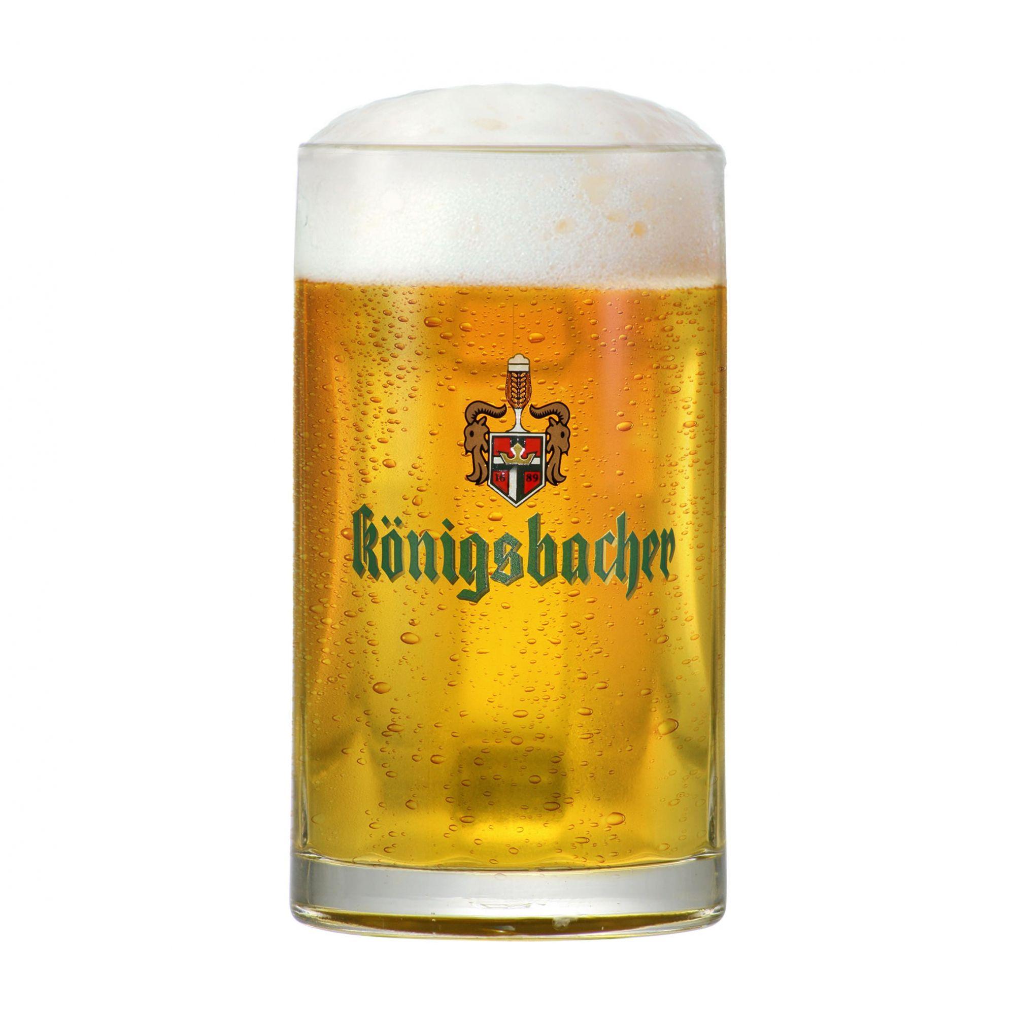 Caneca de Chopp ou Cerveja 0,2 Königsbacher 275ml Cervejas do Mundo