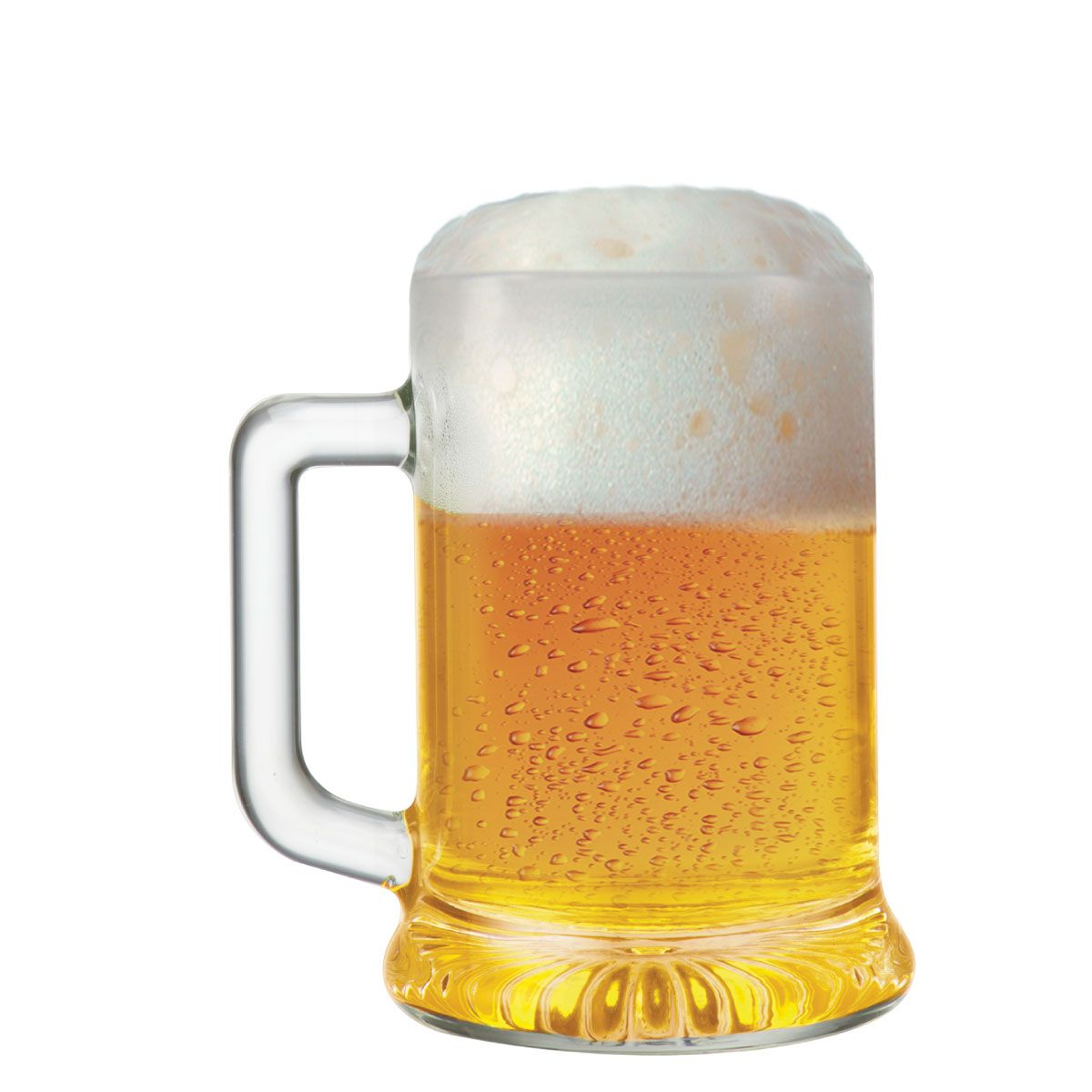 Caneca de Chopp de Vidro ou Cerveja Star 500ml