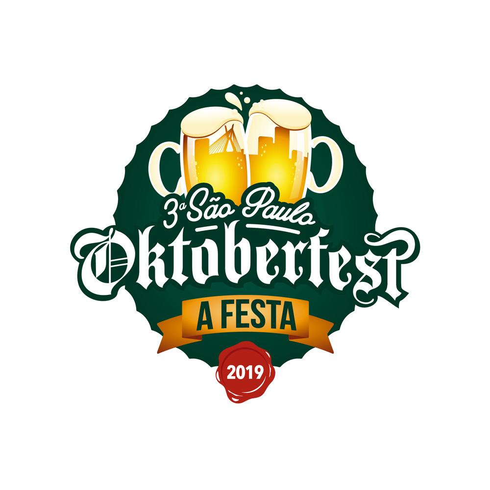 Caneca de Vidro Mass Krug G 1.250ml Oktoberfest 2019