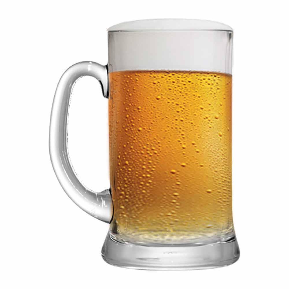 Caneca de Chopp de Vidro Cerveja Bavaria P 300ml