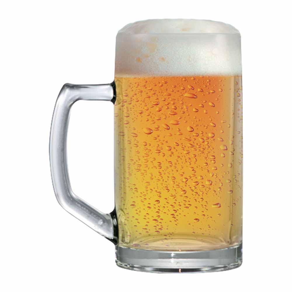 Caneca de Chopp de Vidro Cerveja Brema M 350ml