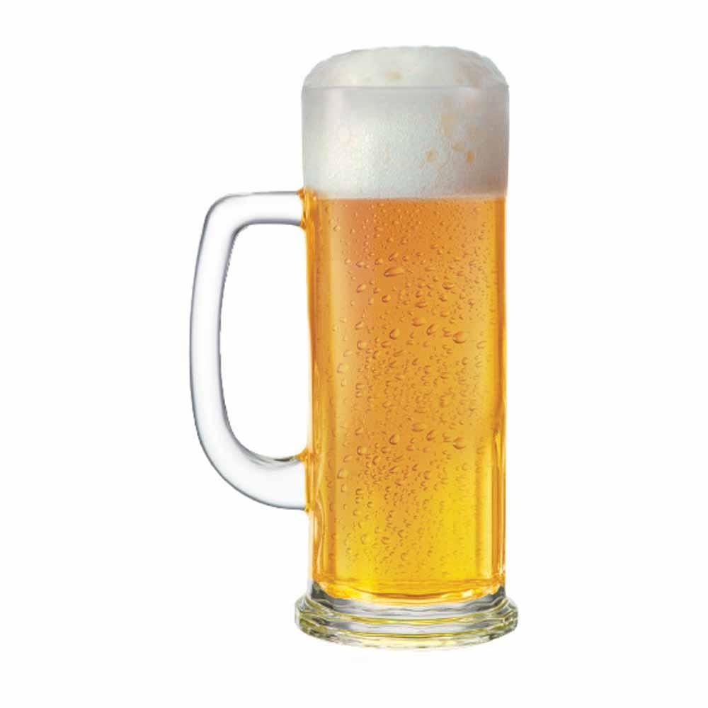 Caneca de Chopp de Vidro Cerveja Europa P 380ml