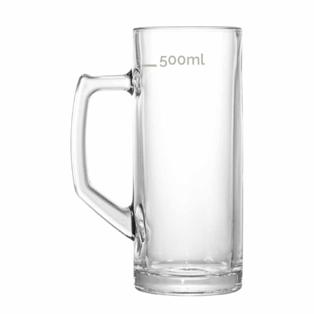 Caneca de Chopp de Vidro Cerveja Reno G 650ml