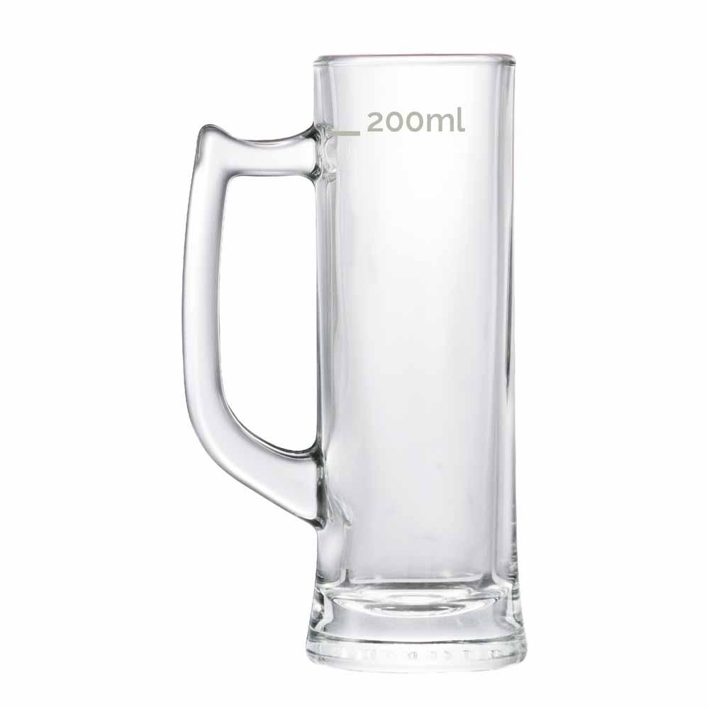 Caneca de Chopp de Vidro Cerveja Sauerland 280ml