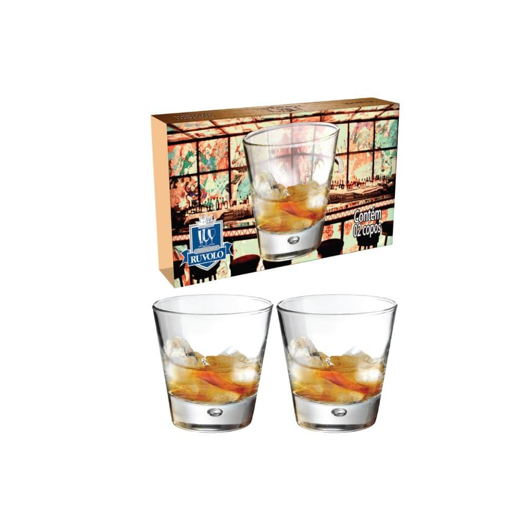 Conjunto de Copos Whisky Strange 300ml 02 pças
