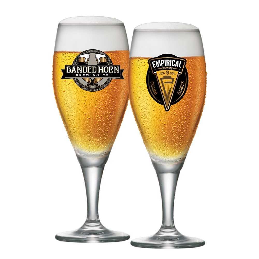 Conjunto De Taça De Cristal Para Cerveja Gourmet M 400ml