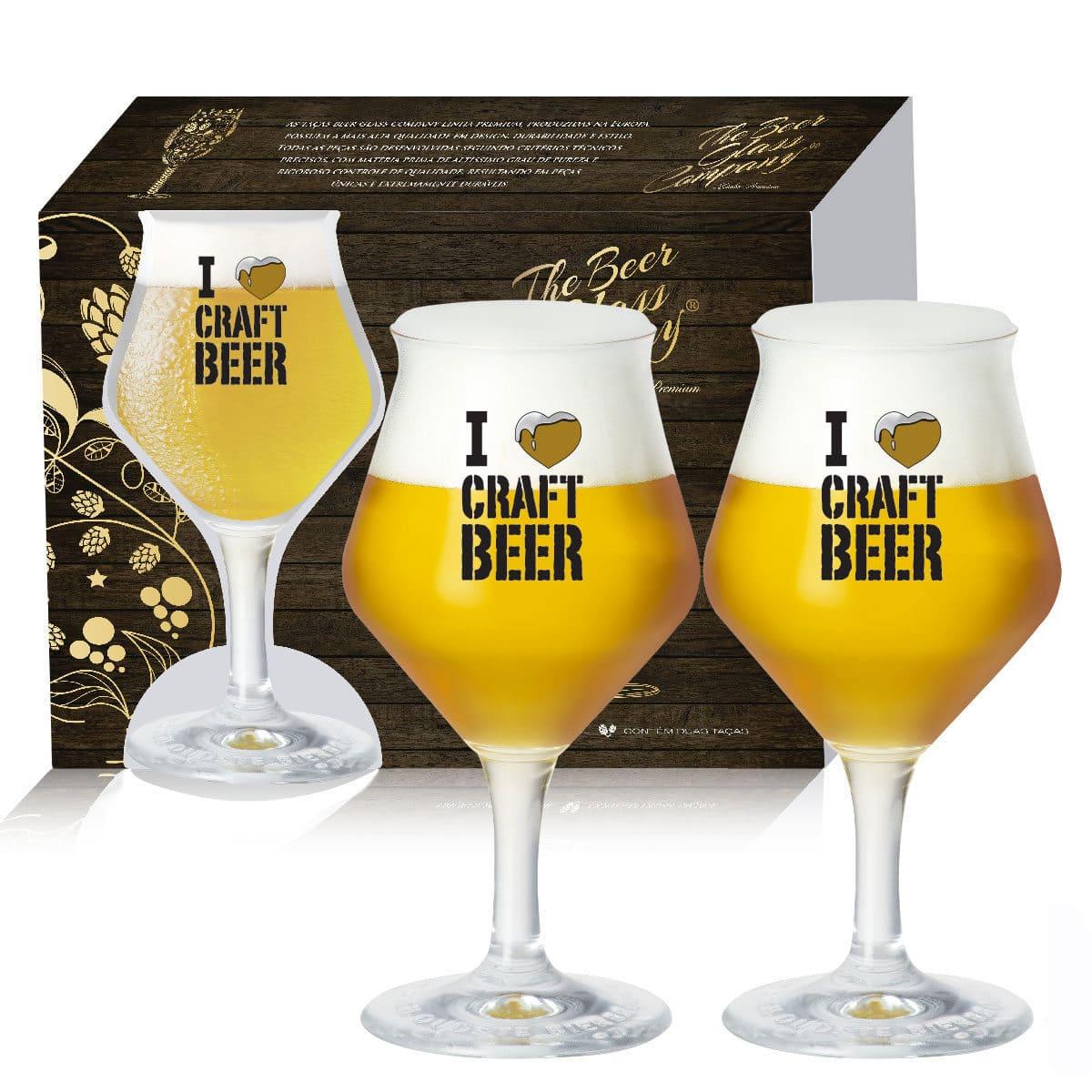 Conjunto de Taça para Cerveja Beer Sommelier 435ml 2 pçs QE