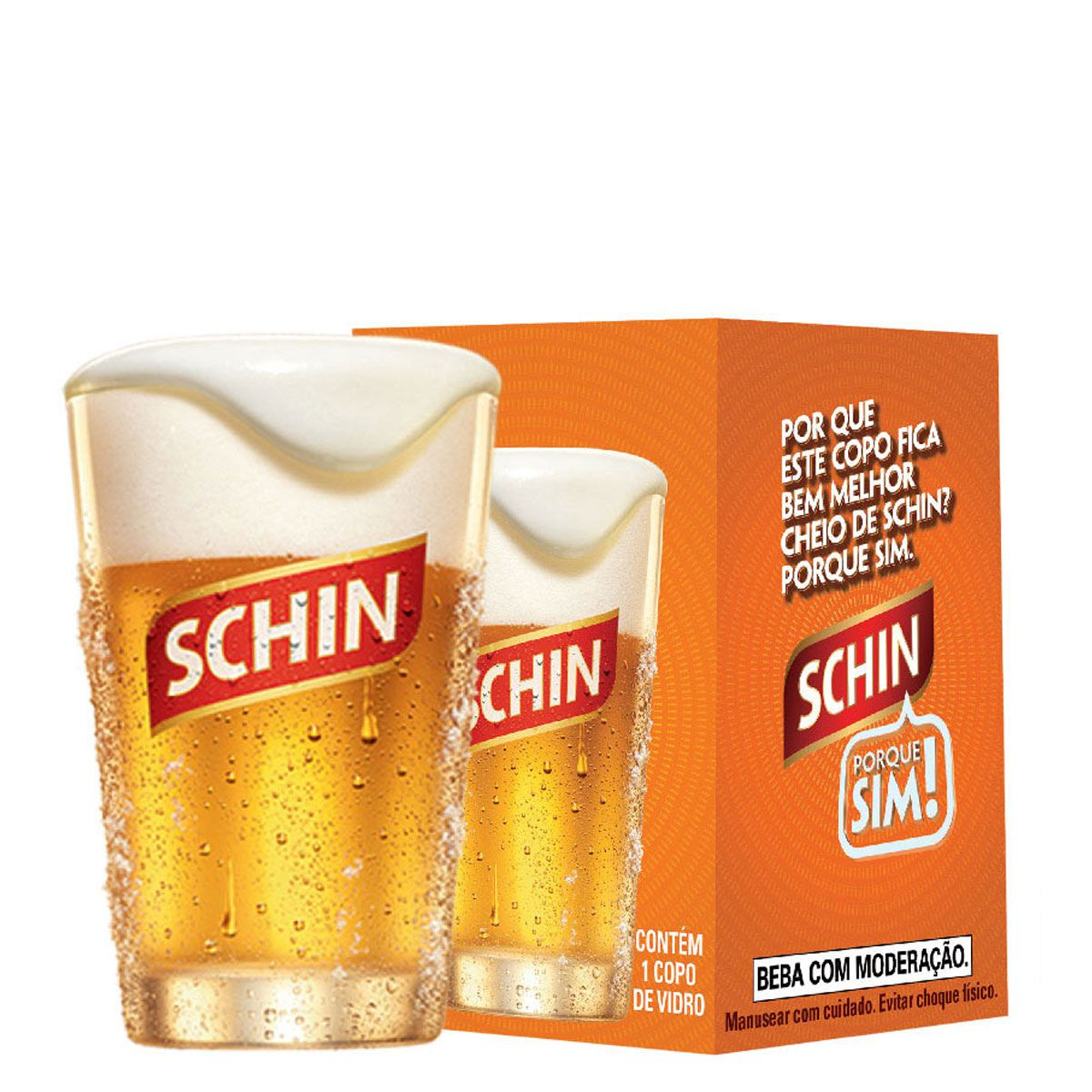 Copo Cerveja - Caldereta Schin 300ml QE
