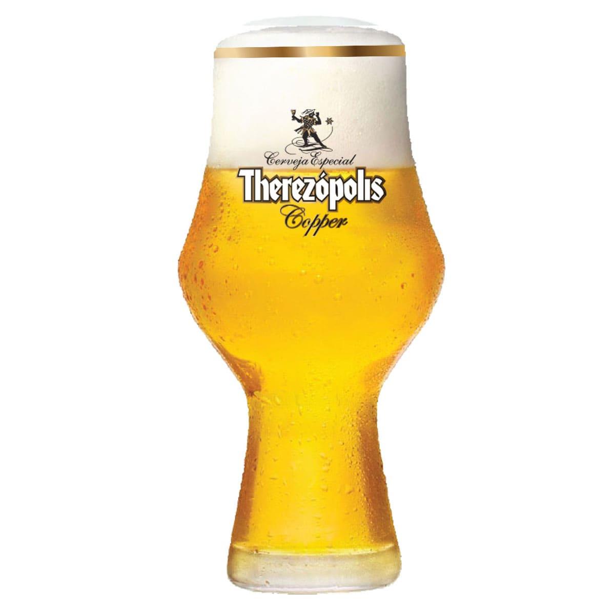 Copo Cerveja Cristal Therezópolis Copper 495ml