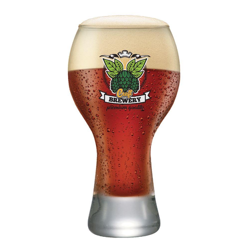 Copo Cerveja Rótulos com Frases Craft Premium Black M 670ml