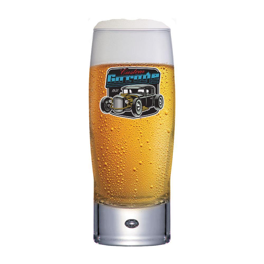 Copo de Cerveja com Frases Carro Motors Garage Strange 300ml
