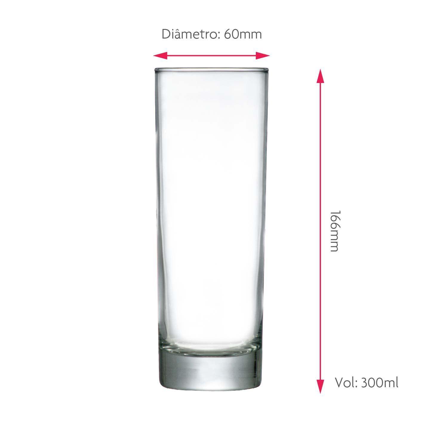 Copo de Água Frases Legais Embelezol Tubo 300ml