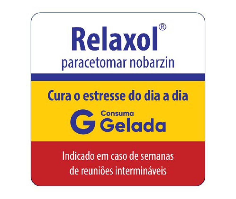 Copo de Água Frases Legais Relaxol Tubo 300ml