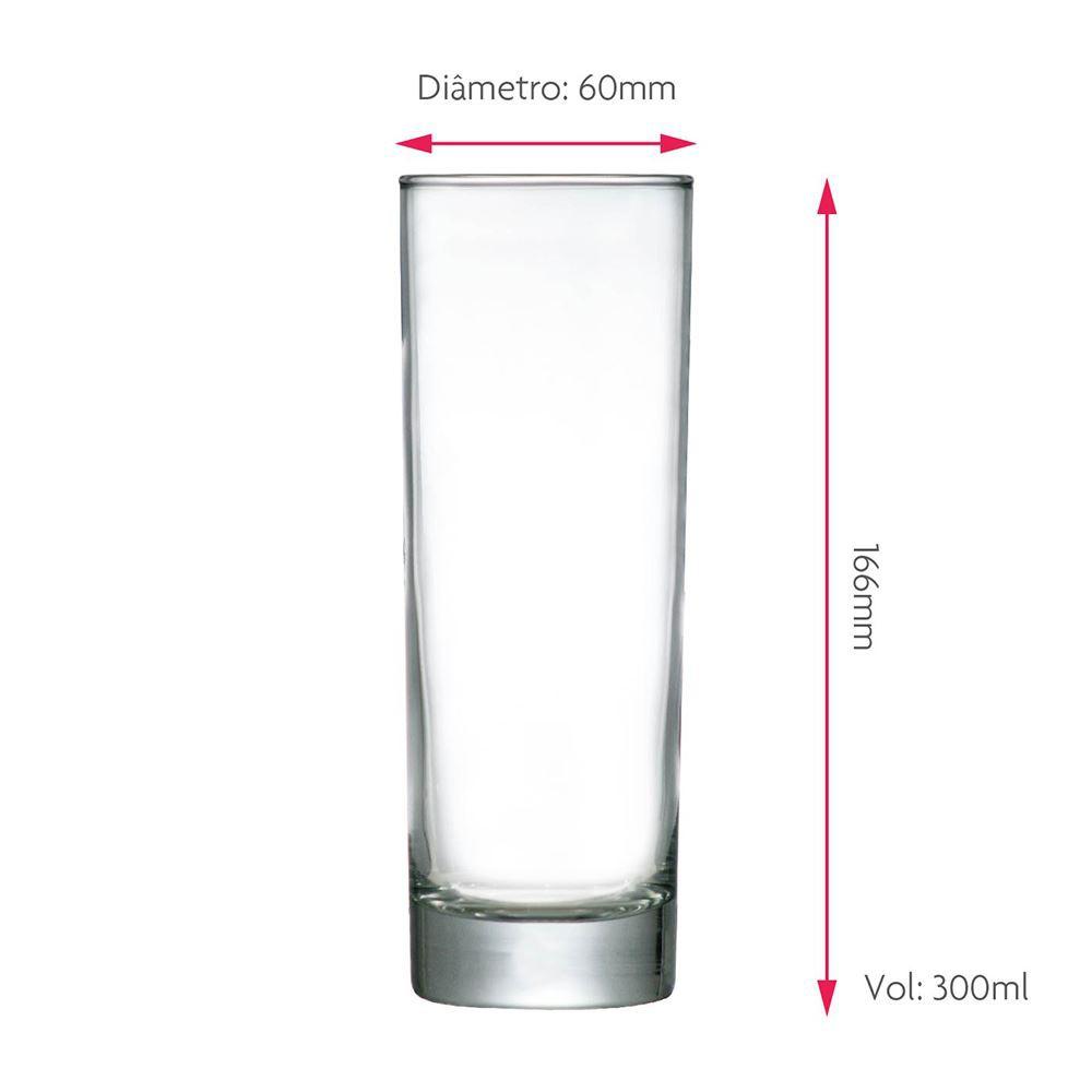 Copo de Água Frases Legais Risotril Tubo 300ml