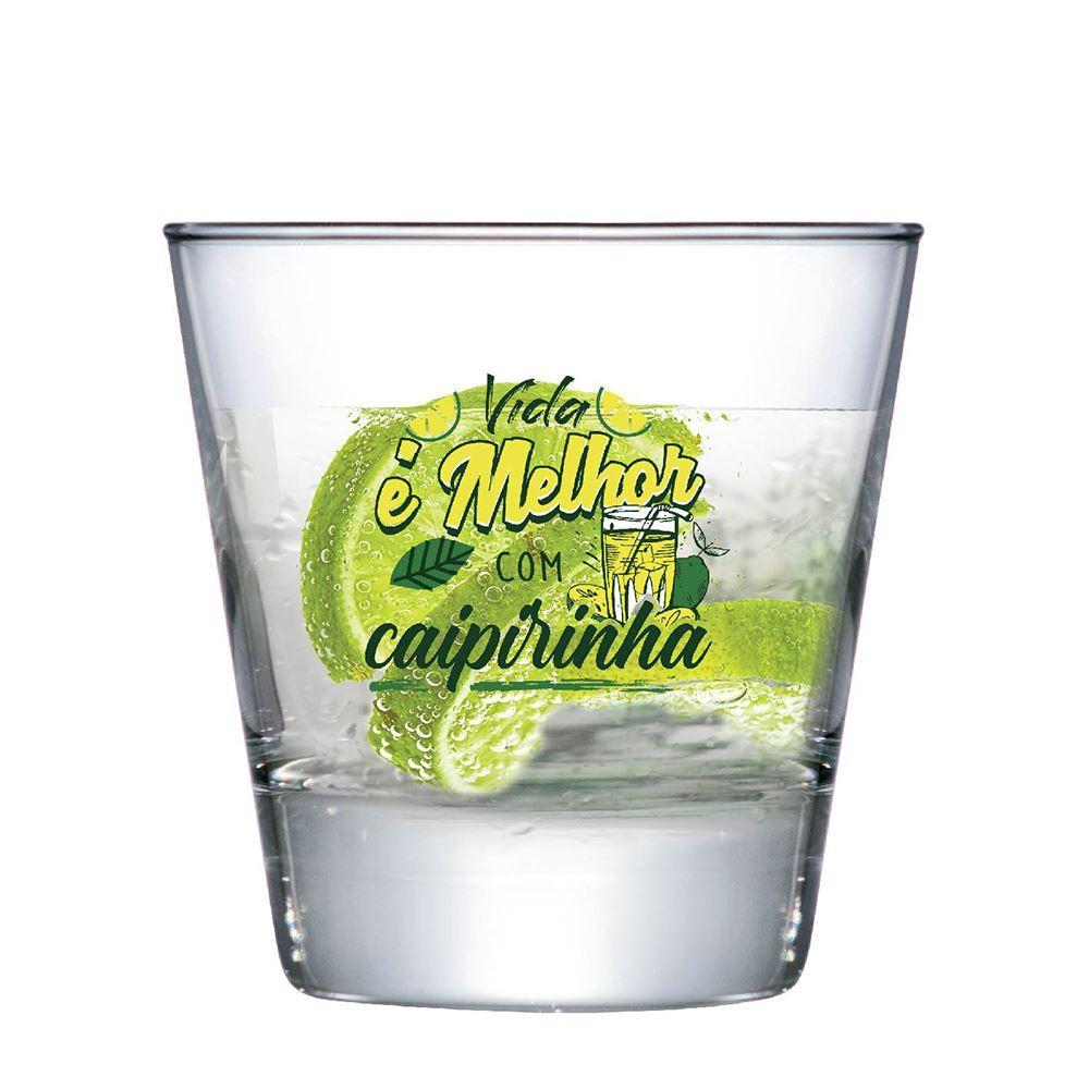 Copo de Caipirinha Frases Copo de Caipirinha Conico 270ml