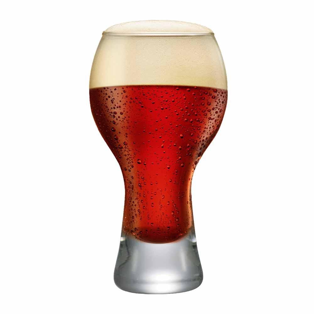 Copo de Cerveja de Vidro Black M 670ml