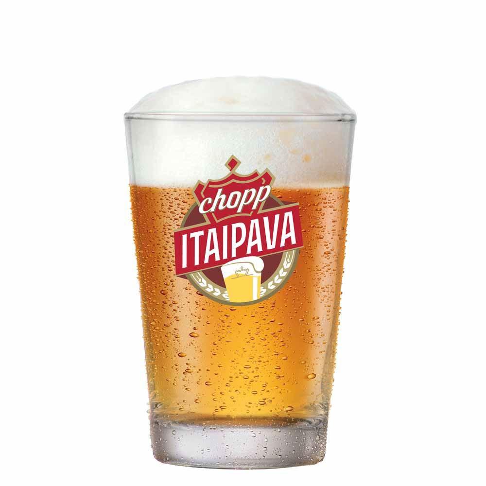 Copo de Cerveja Caldereta Chopp Itaipava Vidro 300ml
