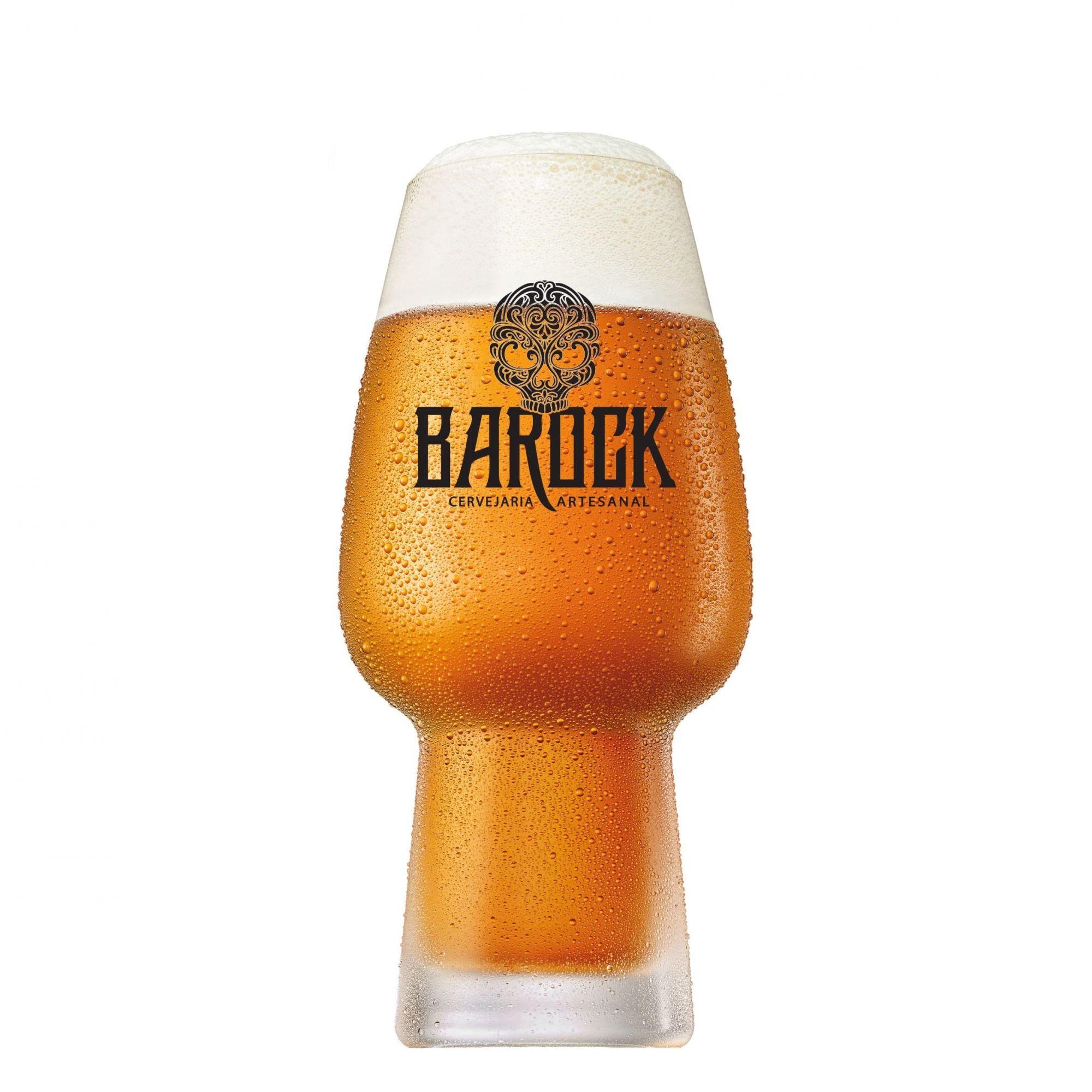 Copo Cerveja Cristal Craft Beer Barock 400ml