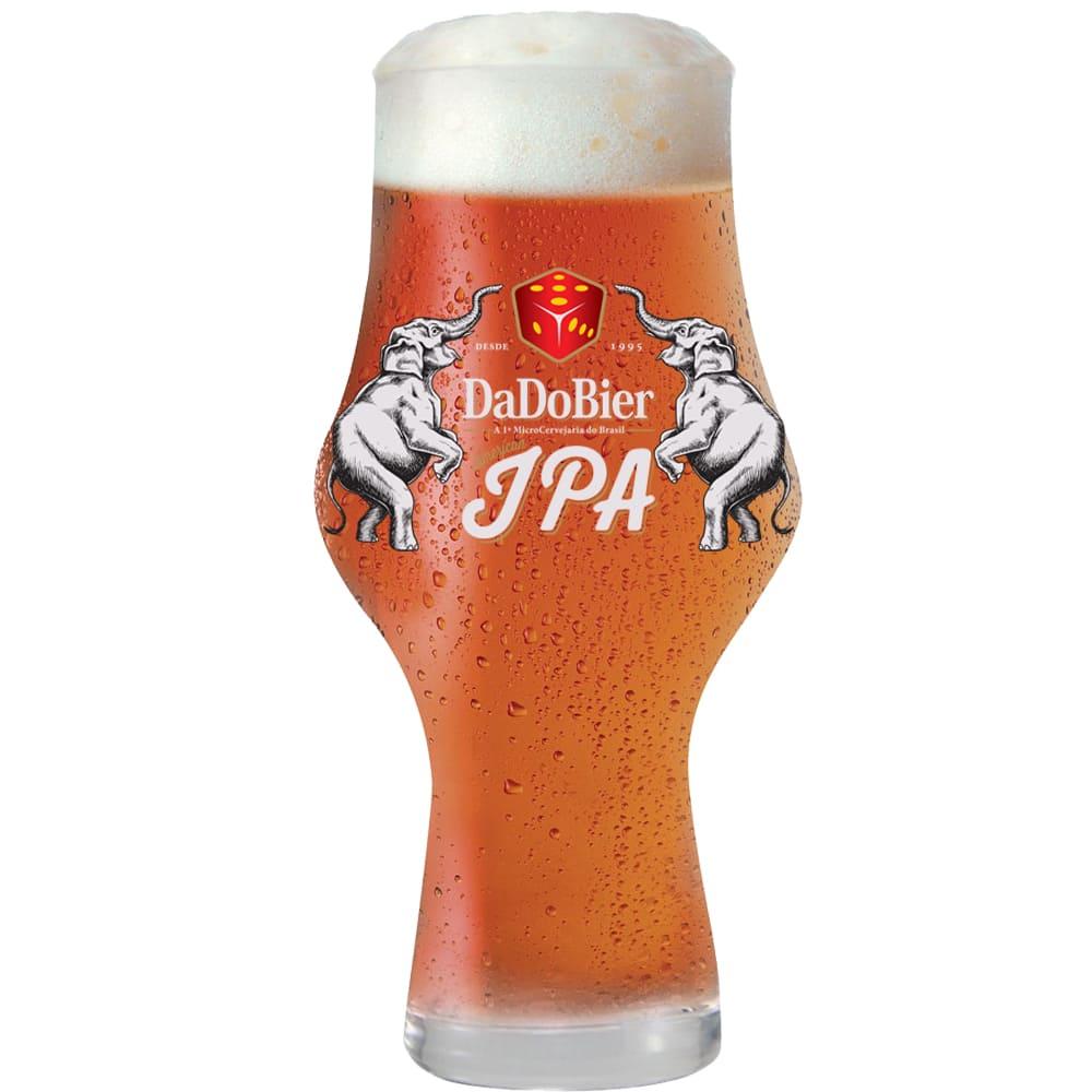 Copo de Cerveja Dado Bier IPA 495ml Cristal Glass