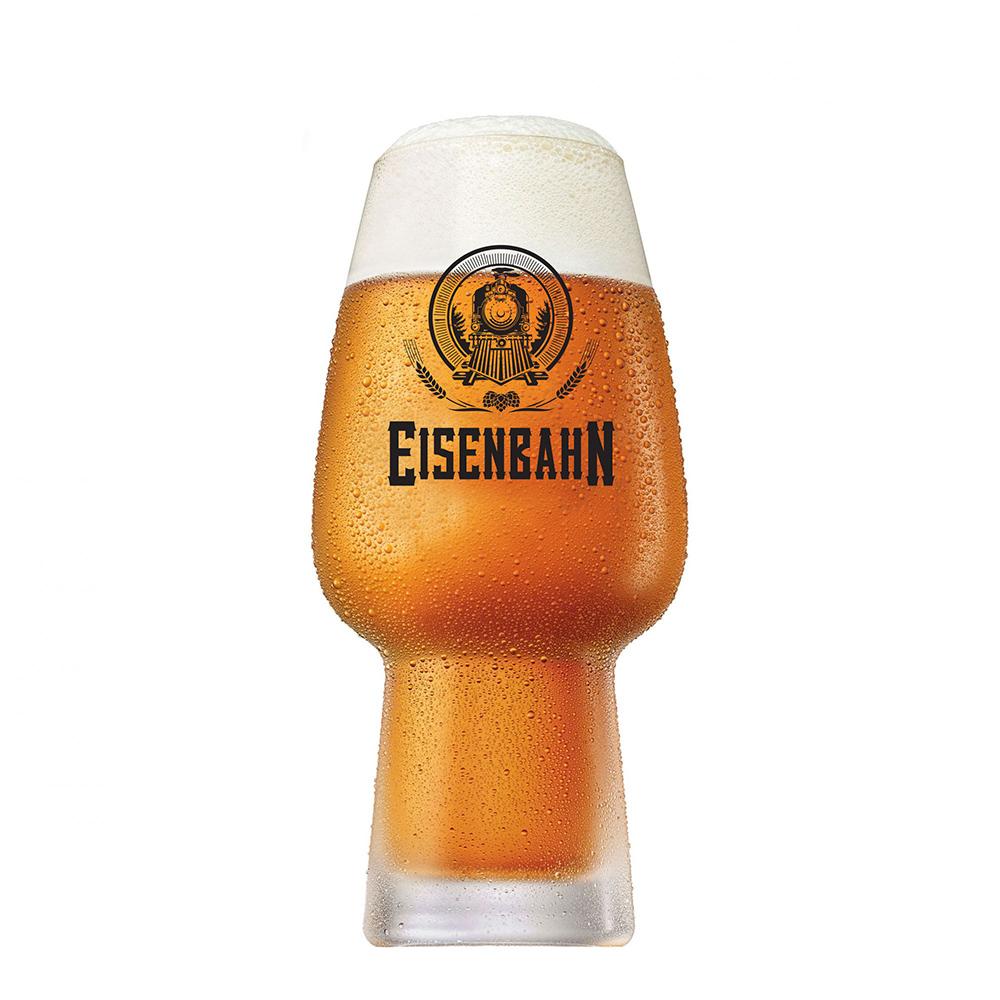 Copo de Cerveja de Cristal Eisenbahn Todos a Bordo 400ml