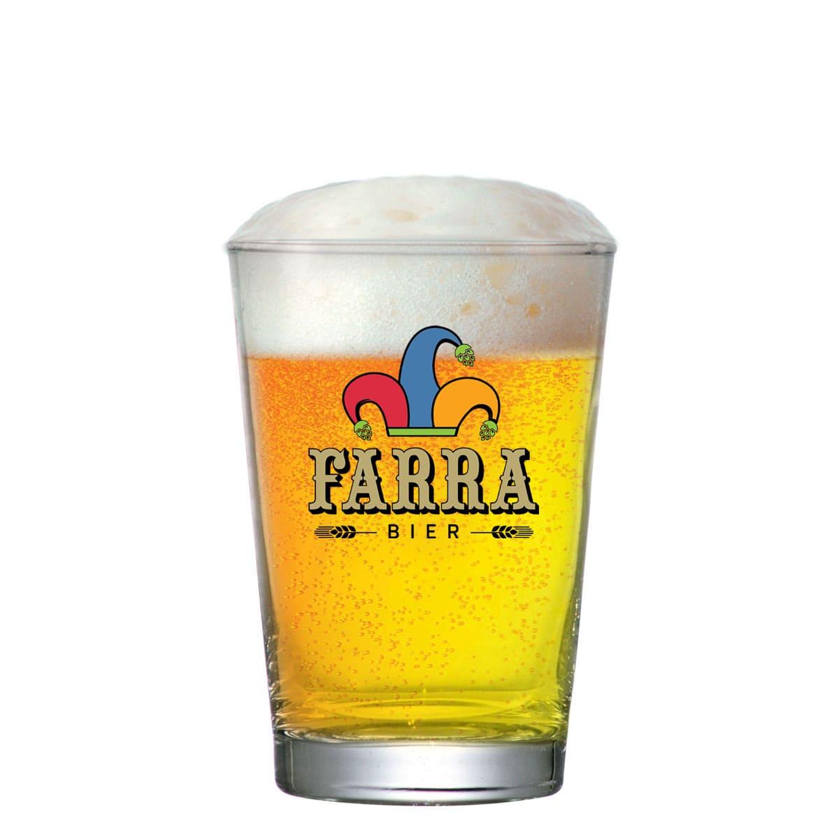 Copo de Cerveja de de Vidro FARRA Caldereta P 300ml