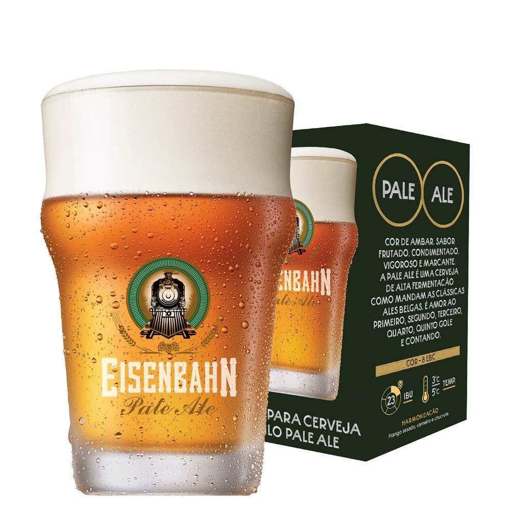 Copo de Cerveja Eisenbahn Cristal Pale Ale 300ml