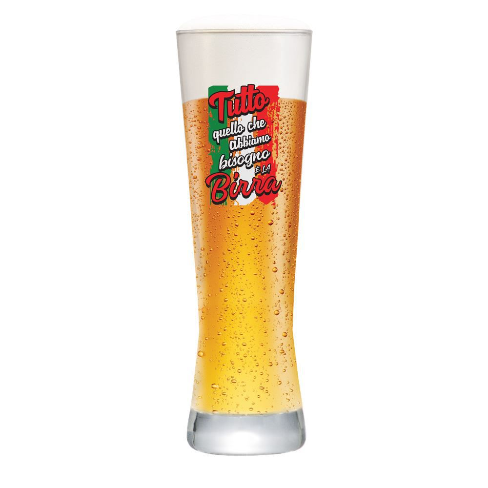 Copo de Cerveja Frases de Boteco All W Need Tutto Polite 280ml