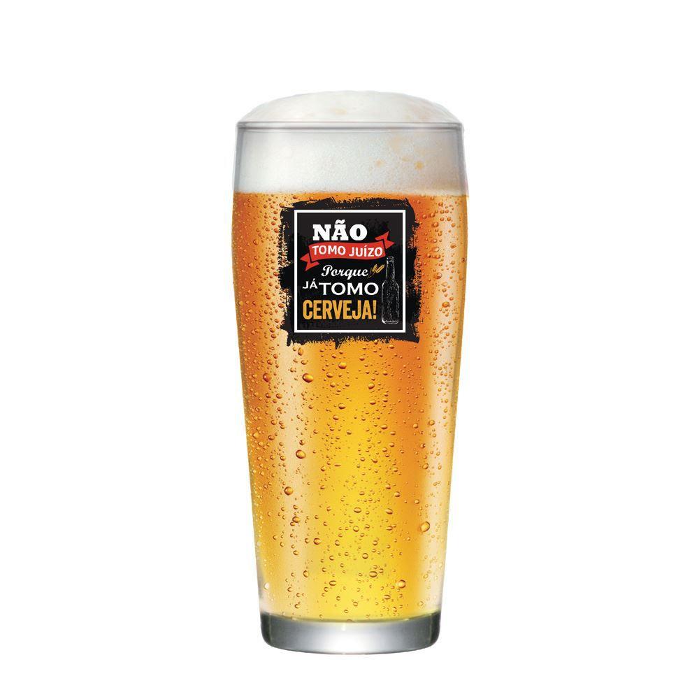Copo de Cerveja Frases Engraçadas Não Tomo Willy P 310ml