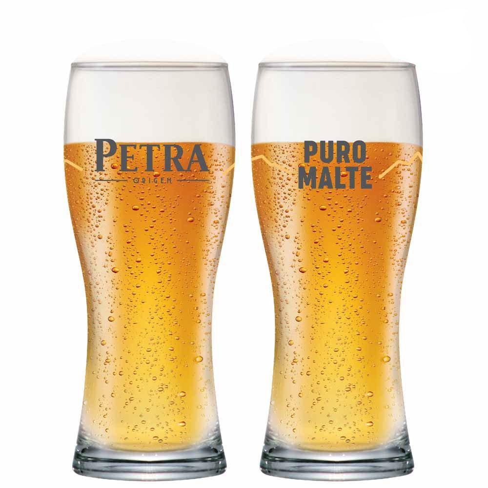 Copo de Cerveja Petra Puro Malte Vidro 325ml