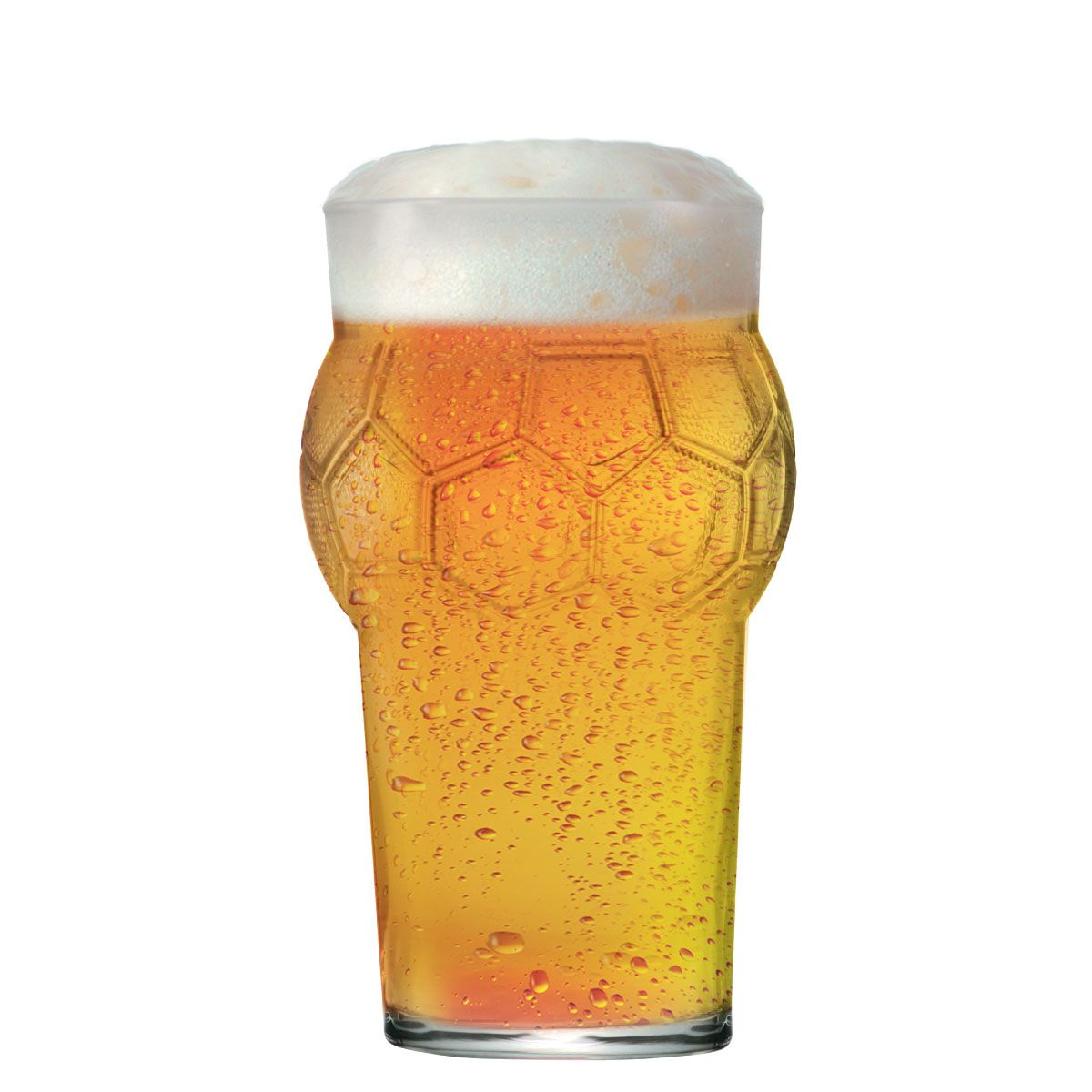 Copo Cerveja Pint Bola Futebol 580ml
