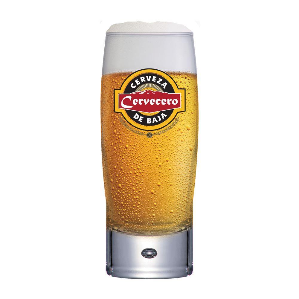 Copo de Cerveja Rótulo Frases Cervecero Strange 300ml