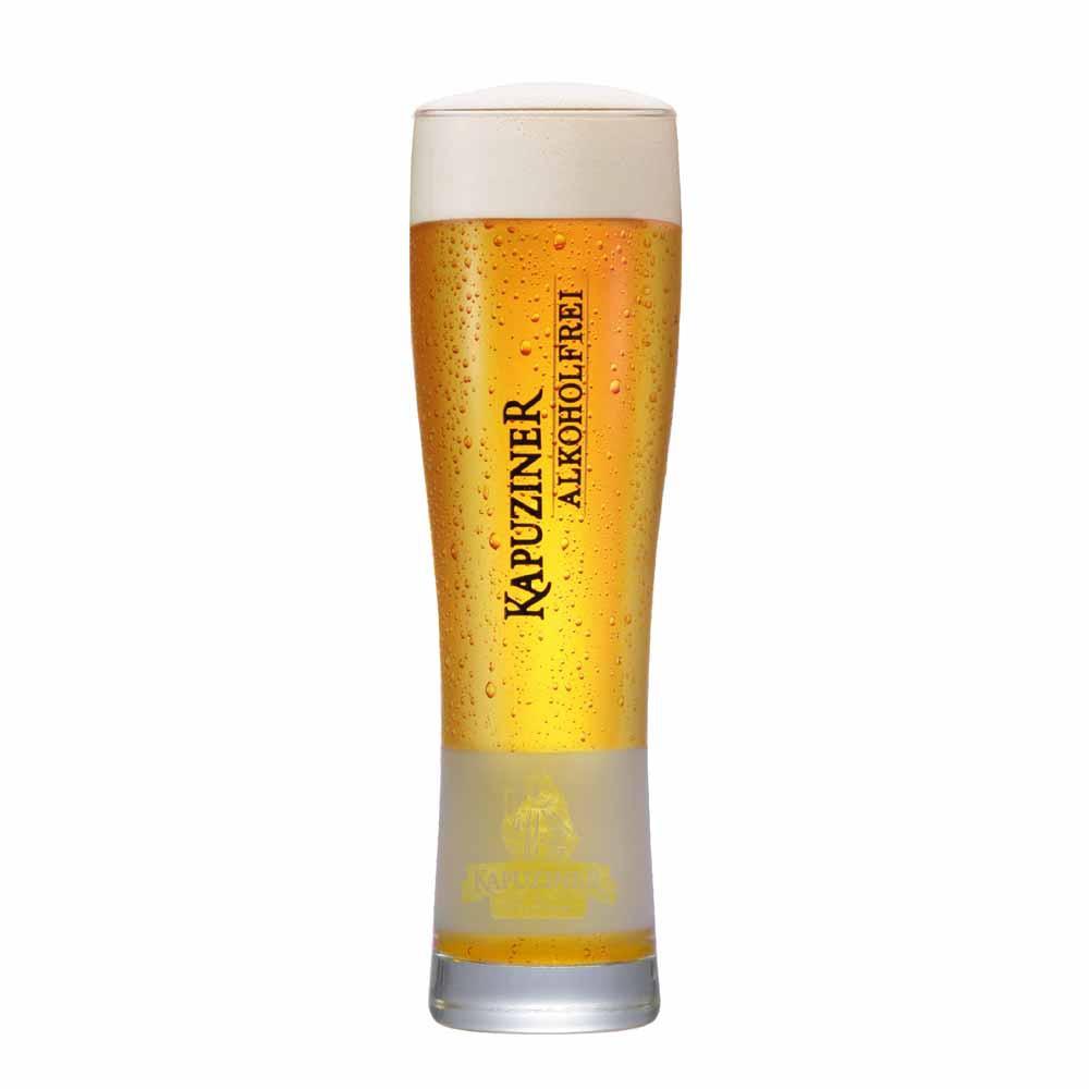 Copo de Cerveja Rótulo Frases Kapuziner Vidro 600ml