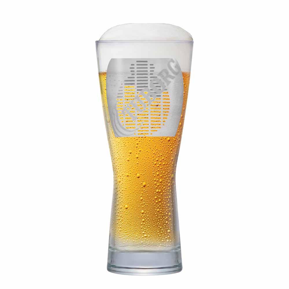 Copo de Cerveja Rótulo Frases Tuborg Cristal 550ml