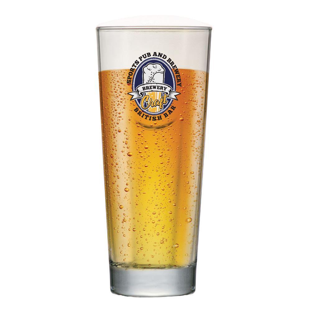 Copo de Cerveja Rótulos com Frases Brewery Event M 660ml
