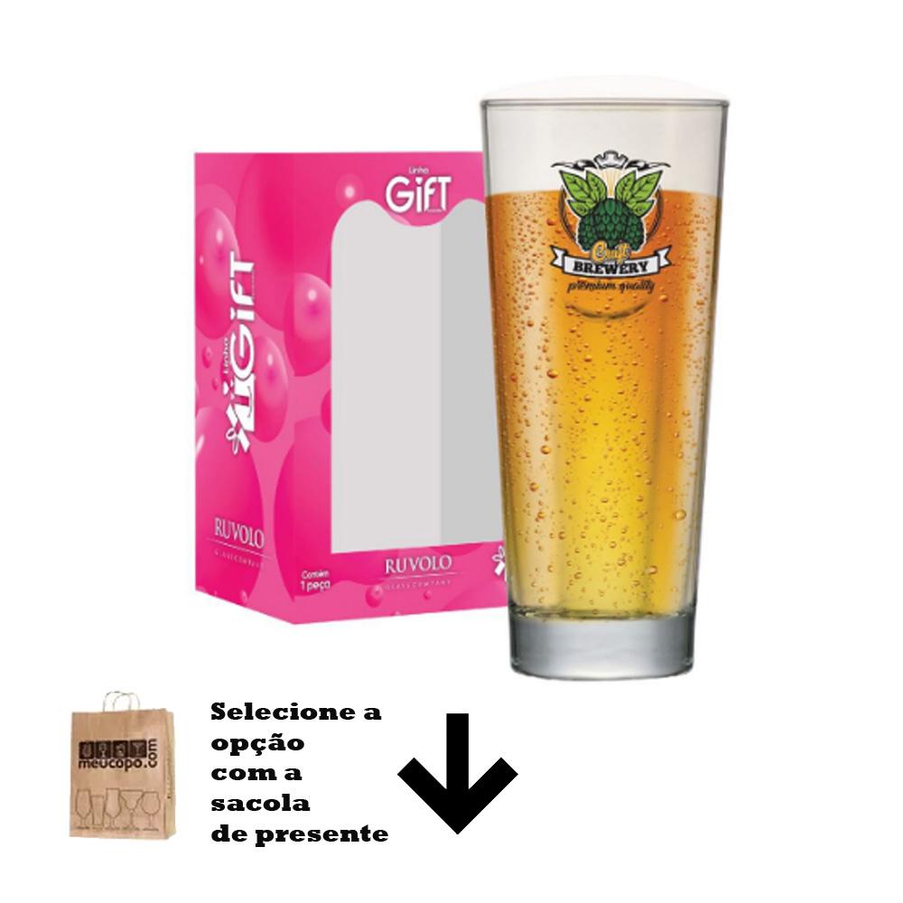 Copo de Cerveja Rótulos com Frases Premium Event M 660ml