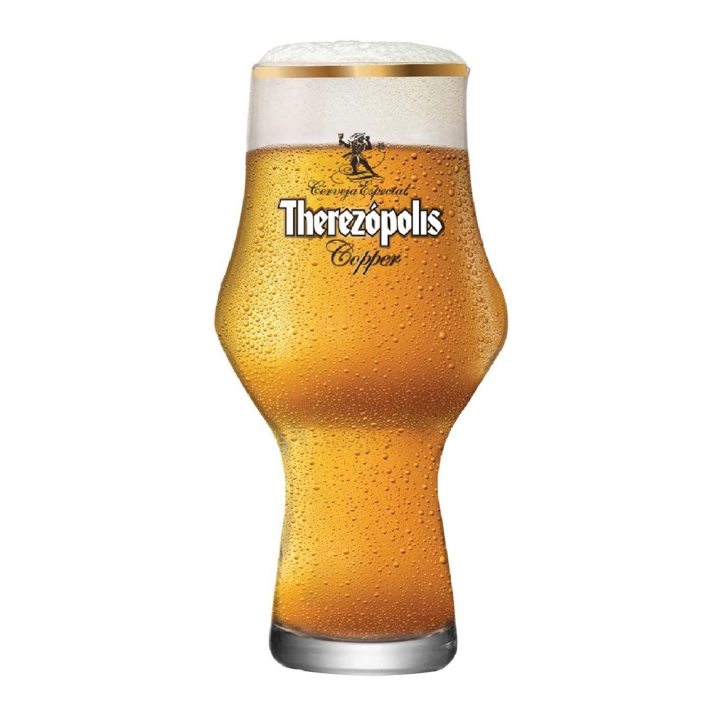Copo de Cerveja Therezopolis Copper Cristal 495ml