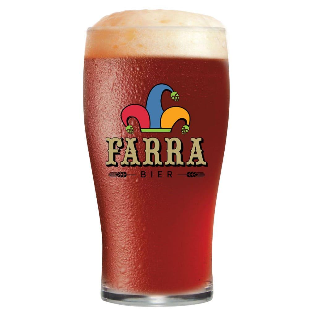 Copo de Cerveja de Vidro FARRA BIER Pint IPA 595ml