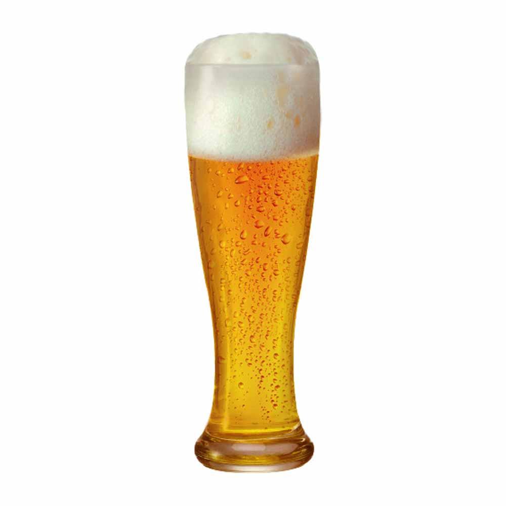 Copo de Cerveja de Vidro Weiss Linderhof Torcido 665ml