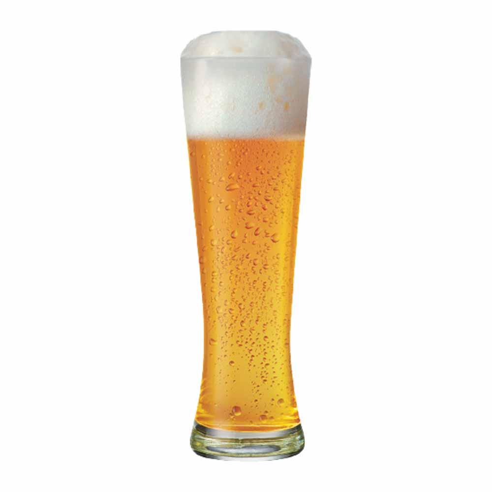 Copo de Cerveja de Vidro Weiss Polite G 685ml