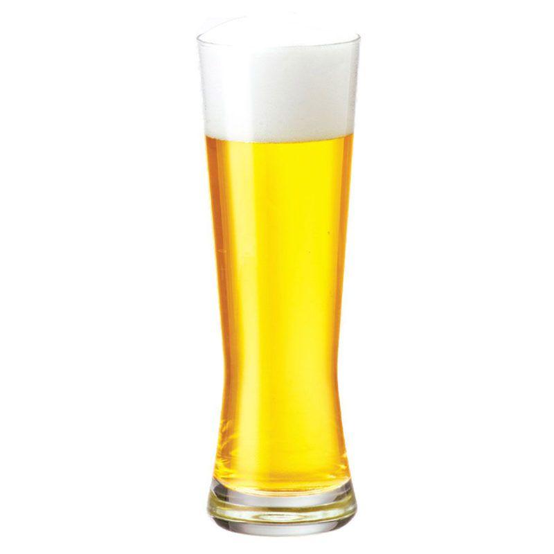 Copo Cerveja Vidro Weiss Polite M 430ml