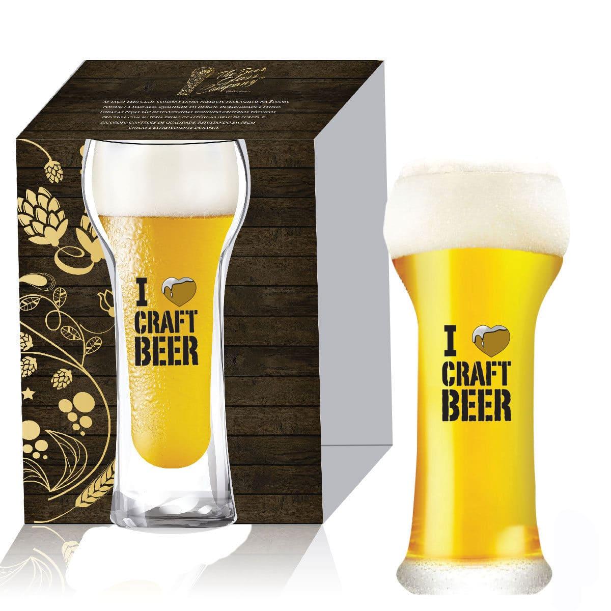 Copo de Cristal para Cerveja Wheat Beer de 510ml 01 pç