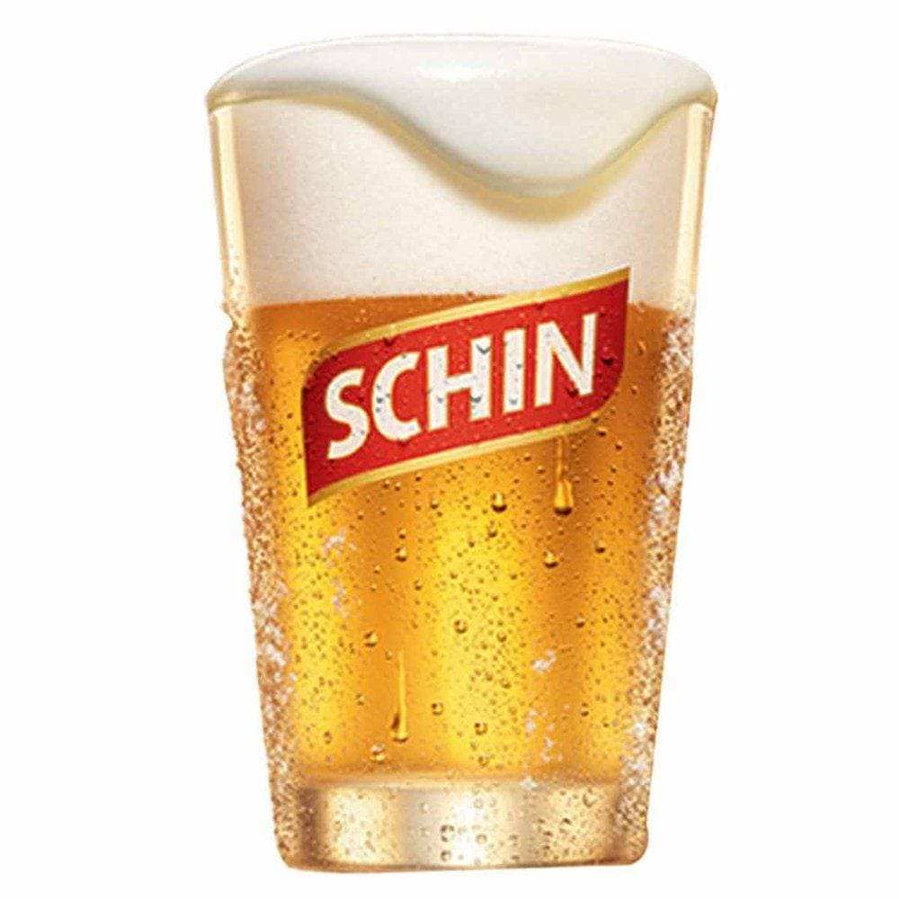 Copo de Vidro Cerveje Schin Caldereta 350ml