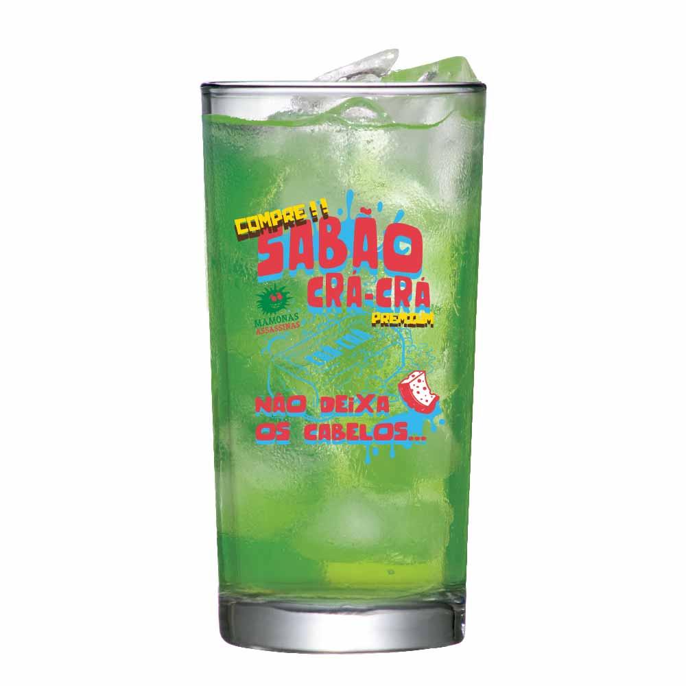 Copo de Vidro Long Drink Mamonas Assassinas CRA 255ml