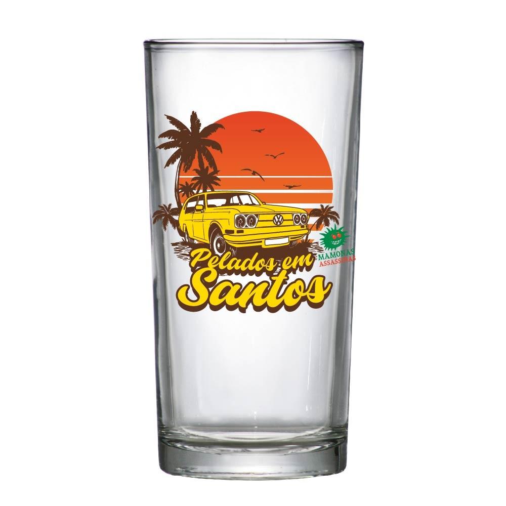 Copo de Vidro Long Drink Mamonas Assassinas PES 255ml